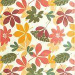 angora lapis plus geometrik desenli halı koleksiyonu - angora hali renkli yaprak desenli 150x150