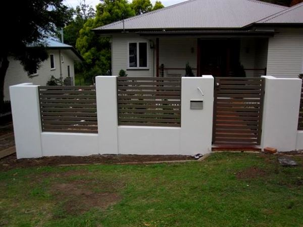 bahçe duvar ve Çit modelleri - bahce duvar vecit modeli