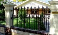 Bahçe Duvar Ve Çit Modelleri