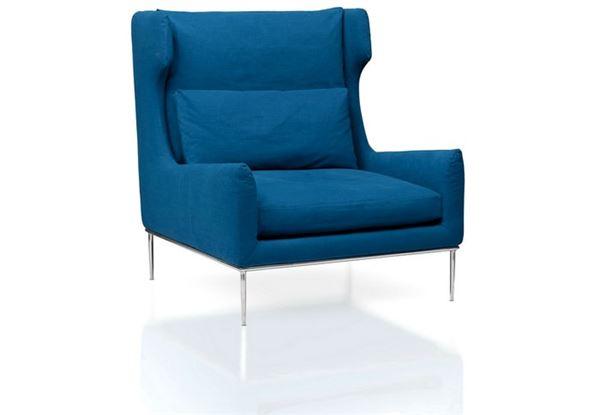 enne mobilya dekoratif modern berjer modelleri - enne mobilya gale saks mavisi berjer koltuk - Enne Mobilya Dekoratif Modern Berjer Modelleri