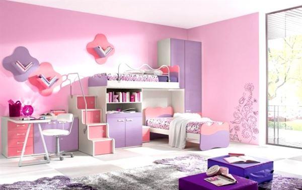 iki kişilik genç odası bebek ve genç odası - iki kisilik kiz genc odasi dekorasyon - Bebek Ve Genç Odası Dekorasyon Stilleri