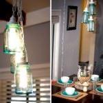 kavanozdan evinize dekoratif süsleme fikirleri - kavanozdan avize 150x150