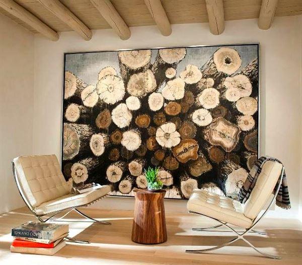 Köy Evi Dekorasyonu köy evi dekorasyonu - koy evi duvar tablosu - Modern Tarzda Köy Evi Dekorasyonu
