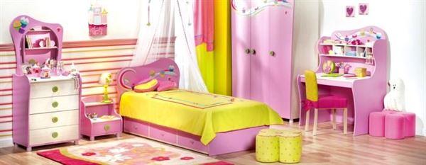 lila kız odası mobilya