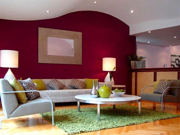dekoratif oturma odası renk ve dekor seçenekleri