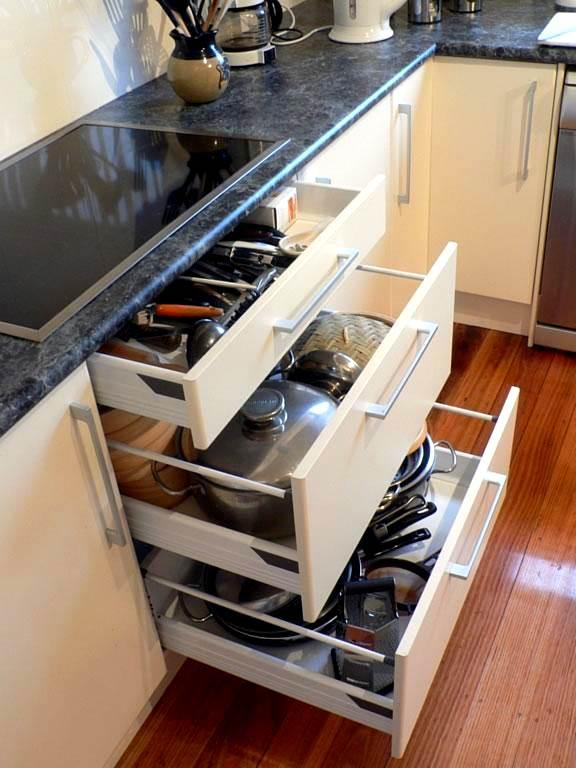 Mutfak Dolap Çekmece Modelleri 8