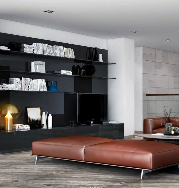 modern değişik ev dekorasyon stilleri