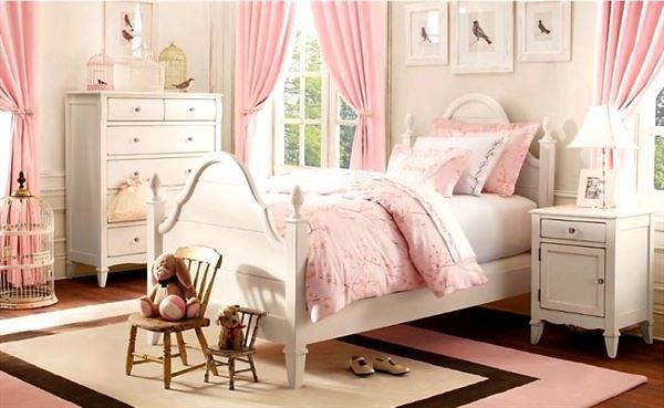 retro genç kız odası bebek ve genç odası - retro tarzi genc odasi - Bebek Ve Genç Odası Dekorasyon Stilleri