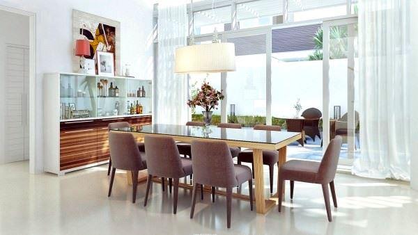 Modern Değişik Ev Dekorasyon Stilleri 12