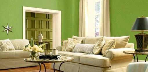Bahar Ve Yaza Özel Duvar Boya Renk Fikirleri 7