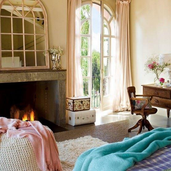 vintage yatak odası dekorasyonu - vintage dekorasyonlu yatak odasi - Vintage Yatak Odası Dekorasyonu