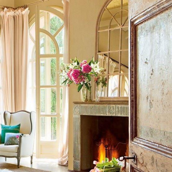 vintage yatak odası dekorasyonu - vintage somineli yatak odasi - Vintage Yatak Odası Dekorasyonu
