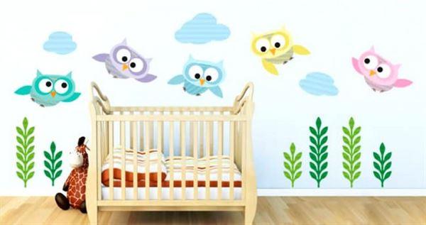 Manzaralar ve Çıkartma Resimleri evinizin duvarlarına manzaralar ve Çıkartma resimleri - bebek odasi duvar cikartma resim 650x344 - Evinizin Duvarlarına Manzaralar ve Çıkartma Resimleri