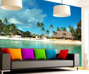 Evinizin Duvarlarına Manzaralar ve Çıkartma Resimleri