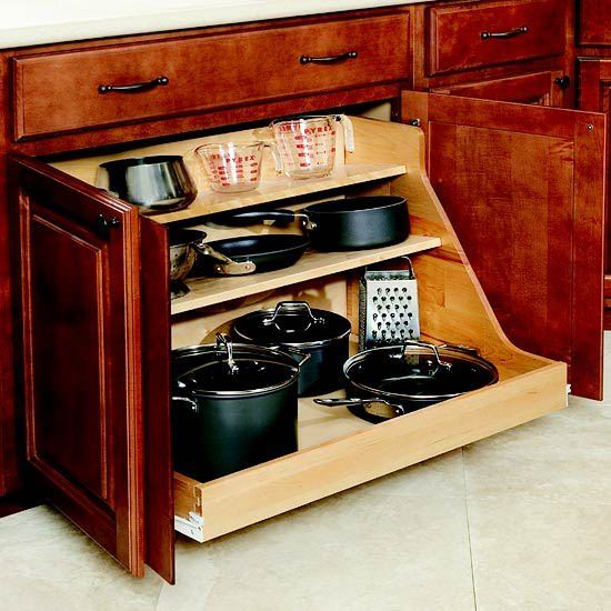 Büyük Mutfak Eşyalarını Depolama Fikirleri