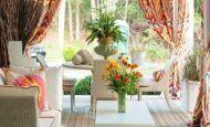 Yazlık Ev Sundurma Dekorasyon Modelleri