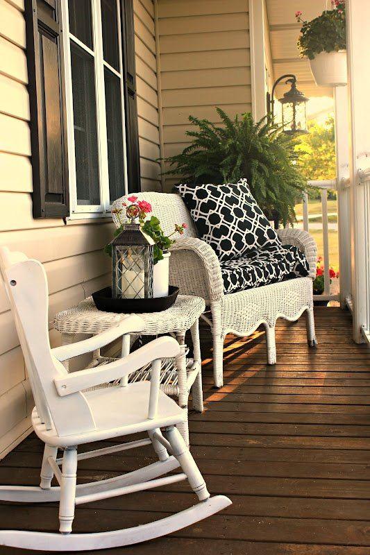 yazlık ön balkon koltuk modelleri