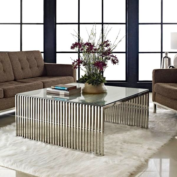 Modern Coffee Table Metal: Dekoratif Modern Metal Sehpa Modelleri