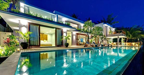 okyanus manzaralı yazlık ev dekorasyonu ve mimarisi - muhtesem villa havuzu - Okyanus Manzaralı Yazlık Ev Dekorasyonu Ve Mimarisi