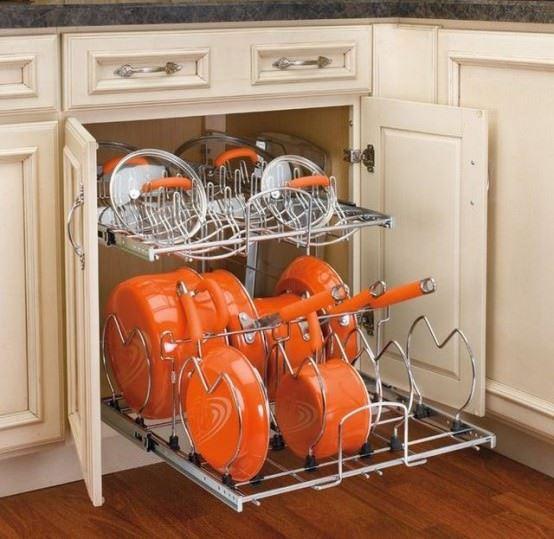 Büyük Mutfak Eşyalarını Depolama Fikirleri 1