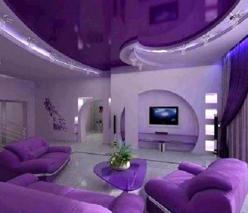 Lcd Televizyon Duvar Niş Tasarımları 6