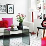 pembe renkli kadınsı daire dekorasyonu - pembe kombinleri 150x150 - Pembe Renkli Kadınsı Daire Dekorasyonu