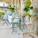 dekoratif yazlık oturma grupları sundurma dekorasyon modelleri - renkli sundurma 150x150 - Yazlık Ev Sundurma Dekorasyon Modelleri
