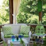 yazlık bahçe oturma grupları sundurma dekorasyon modelleri - retro tarzi sundurma dekorasyon 150x150 - Yazlık Ev Sundurma Dekorasyon Modelleri