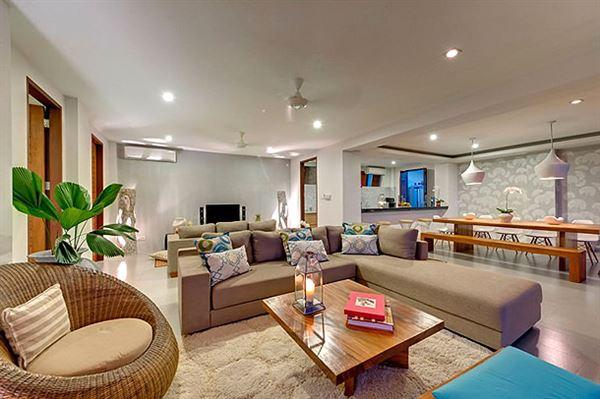 okyanus manzaralı yazlık ev dekorasyonu ve mimarisi - villa salon dekorasyon - Okyanus Manzaralı Yazlık Ev Dekorasyonu Ve Mimarisi