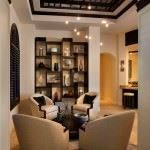 Lüks Dekorasyon Stilleri Taşıyan Oturma Odaları