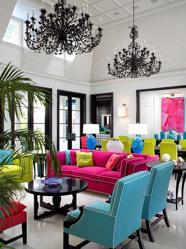 fusya-koltuklu-oturma-odasi-dekorasyon