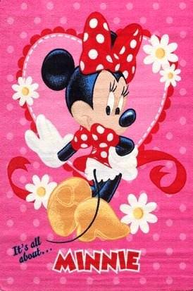 Kaşmir Halı Disney Karakterli Çocuk Odası Halıları 7