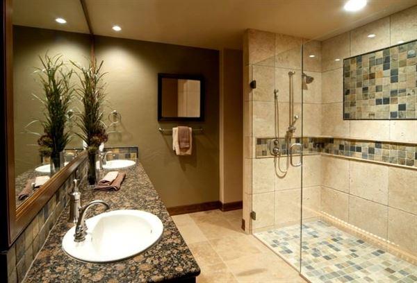 Yeni Tasarım Lüks Banyo Dekorasyon Fikirleri 9