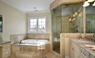 Yeni Tasarım Lüks Banyo Dekorasyon Fikirleri
