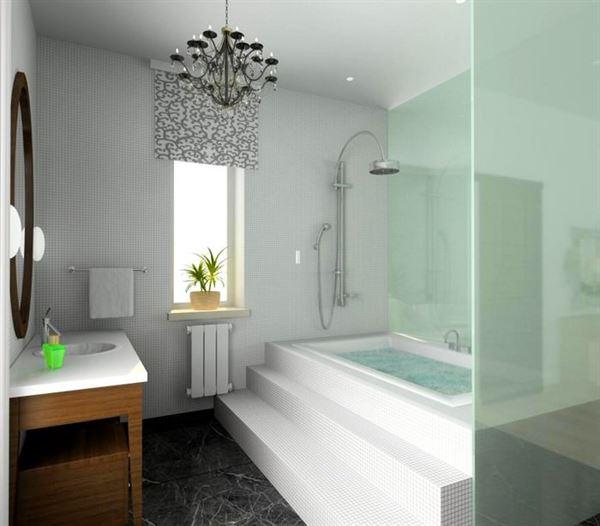 Yeni Tasarım Lüks Banyo Dekorasyon Fikirleri 1