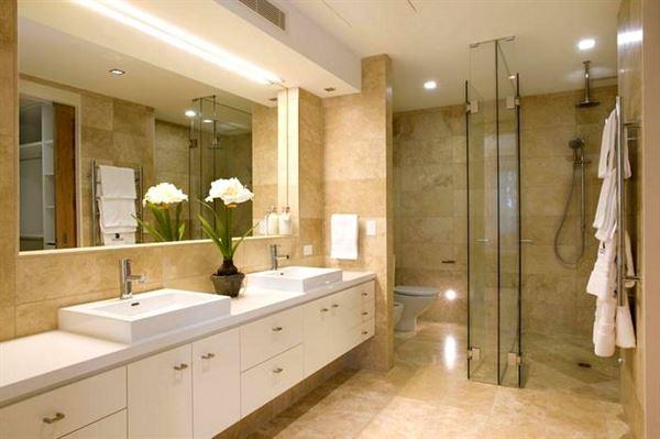 Yeni Tasarım Lüks Banyo Dekorasyon Fikirleri 2