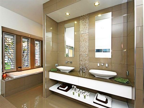 Yeni Tasarım Lüks Banyo Dekorasyon Fikirleri 6