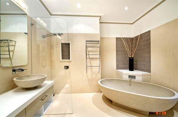Yeni Tasarım Lüks Banyo Dekorasyon Fikirleri 14