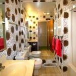 duvar kağıt modelleri - Splendid Bathroom Wallpaper Ideas 150x150 - Banyonlara Özel Yeni Tasarım Duvar Kağıt Modelleri