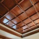 tavan dekorasyonları tavan dekorasyon modelleri - ahsap kare tavan modeli 150x150 - Tavan Dekorasyon Modelleri Ve Malzeme Özellikleri