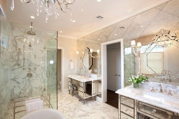 banyo dekoratif ayna süslemeleri