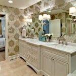 duvar kağıt modelleri - banyo duvar kagidi desenleri 150x150 - Banyonlara Özel Yeni Tasarım Duvar Kağıt Modelleri