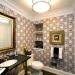 banyo dekorasyon duvar kağıt