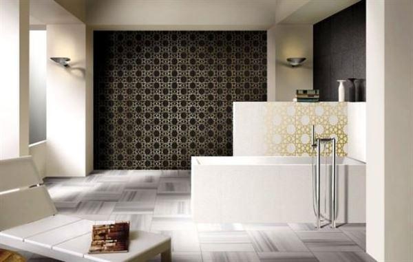 çanakkale seramik beyaz banyo fayans desenleri