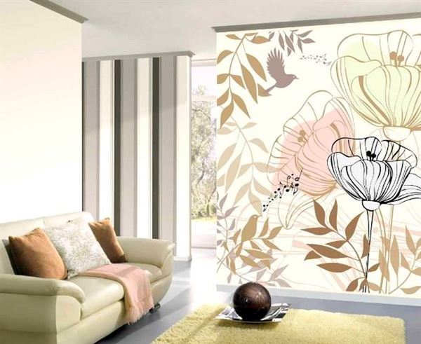 Duvar Kağıdı Desen Ve Renk Seçme Fikirleri 12
