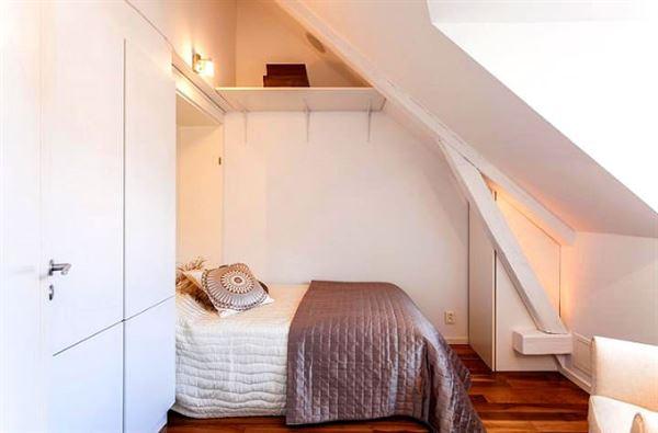 dubleks daire dekorasyonu - dubleks yatak odasi