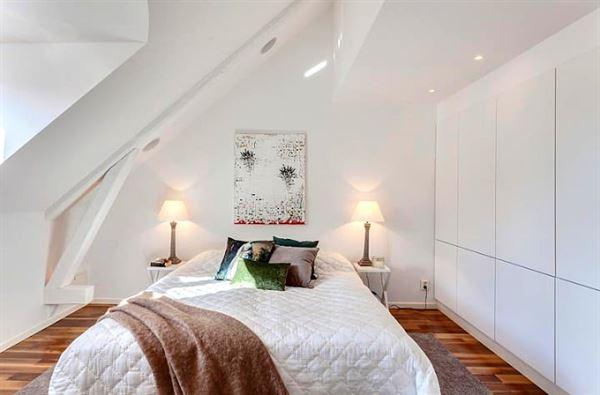 dubleks daire dekorasyonu - dubleks yatak odasi1