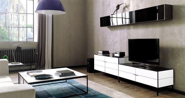 dekoratif modern tv üniteleri