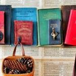 eski kitaplardan süs eşyası yapma