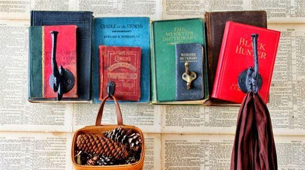 eski kitaplardan süs eşyası yapma süs eşyası yapımı